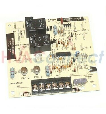 carrier bryant payne furnace blower fan control circuit board hh84aa012