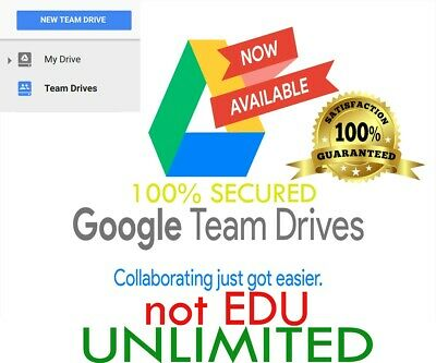Google Drive [Unlimited Storage] On Existing Account [Lifetime]