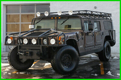 2000 Hummer H1 FINANCING AVAIL CLEAR TITLE 4 Door Keyless Entry ABS TT4 2000 AM GENERAL HUMMER H1 Wagon 4WD Rock Climber Fully Loaded Monster!