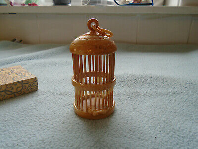 Vintage Chinese Cricket Cage With Original Box