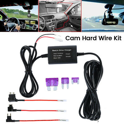 Hard Wire Dash Car Cam Camera Kit For Nextbase 112 212 312 402 412 512GW DUO