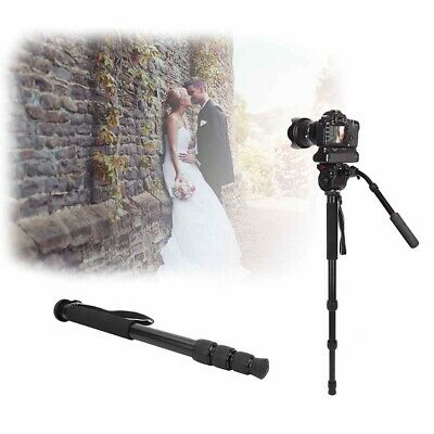 5-Section Telescoping Aluminum Alloy Monopod for Camera DLSR Canon Sony Nikon