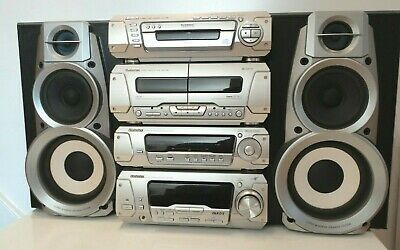 Technics SC-EH780 Dolby Surround Sound HiFi Component System Amp 5xCD Tape Tuner