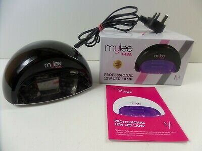 Mylee Pro 12w LED Nail lamp with timer, manicure, curing boxed