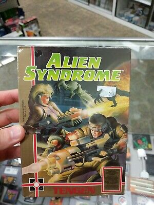 Alien Syndrome (Nintendo Entertainment System, 1988) NEW SEALED