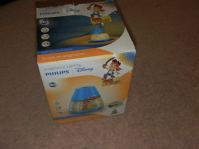 Philips Disney Jake Children's Night Light and Projector (0.1W Integrated LED )