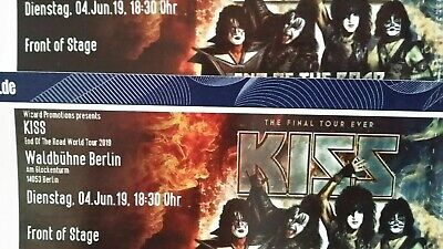 KISS 2 Front of Stage FOS  Berlin 04.06.2019  Waldbühne Berlin