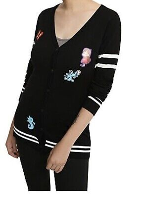 Disney Gravity Falls Mabel Patches Cardigan Sweater XL New