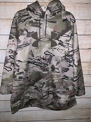 f0d4a82a693a2 UNDER ARMOUR UA Icon Camo Real Tree Hoodie New Mens XXL 1285582 948 ...