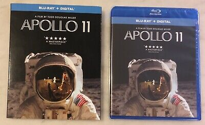 APOLLO 11 (Blu-ray + Digital, 2019) Slipcover; NEW, SEALED, COMPLETE