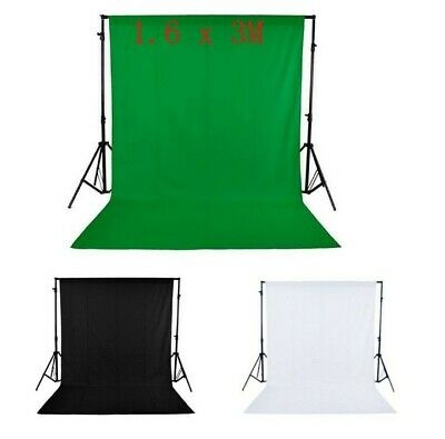 Photography Studio Non-woven Background Screen colors Backdrop 1.6x3M / 5x10ft
