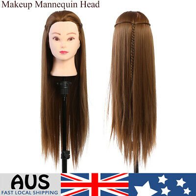 Hair Hairdressing Mannequin Head Salon Training Makeup Manikin Height 26cm AU