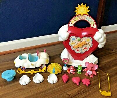 Vintage Kenner Care Bears Care A Lot Cloud Mobile Playset Cousins