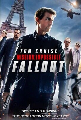 Mission Impossible Fallout 2018 DVD Movie