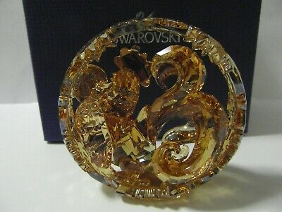 Swarovski Crystal Gold Chinese Zodiac Rooster New Mib Rrp $899