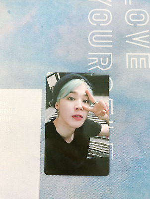 BTS Love Yourself World Tour in Europe DVD Jimin Official Photocard