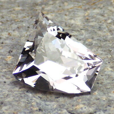 Danburite-Mexico 7.88Ct Claridad VVS1-FOR Jewelry-Free Form Corte Brillante