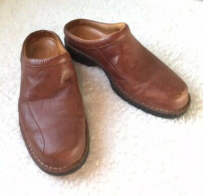 15275894ac0 MENS SZ 15 Brown UGG Australia Clogs Mules Slip On Casual Leather ...