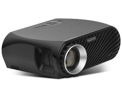 FIXEOVER GP100 Video Projector,LCD 1080P Full-HD Image Quality, LED Light