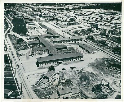 1945 Production Plant for Atomic Bomb Project Original News Service Photo
