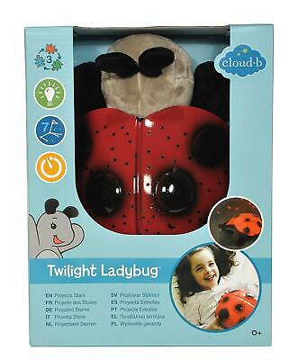 Cloud b Twilight Ladybug Plush Nightlight Projector * Ideal for ages 2 to adult