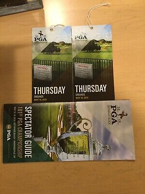 Two Thursday Tickets to 2019 PGA Championship - Bethpage Black
