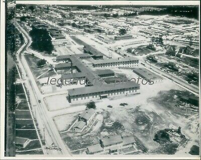 1945 Factory Area of Part of the Atomic Bomb Project Original News Service Photo