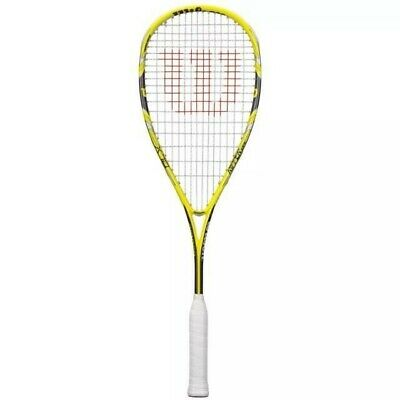 Wilson Blx Ripper 133 Squash Racket With Head Cover - New Model - Rrp £150