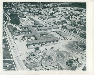 1945 Hospital for Part of the Atomic Bomb Project Original News Service Photo