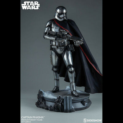 SIDESHOW Ep. 7 TFA Captain Phasma Premium Format Figure Statue NEW SEALED