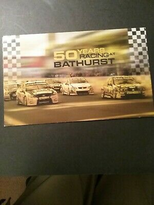 2012 Bathurst! 50 Years of Racing - Post Office Pack With Stamps & Mini Sheet