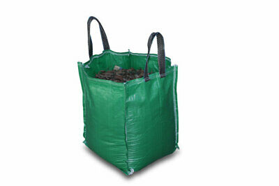 120 Litres Multipurpose Heavy Duty HDPE Green Garden Recycling Handy Bag