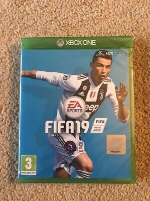 Fifa 19 Xbox One Brand New Factory Sealed