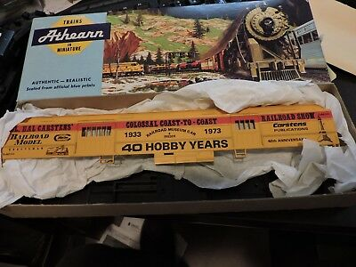 Athearn Ho Scale Carstens Railway Museum Car 40Th Anniversary