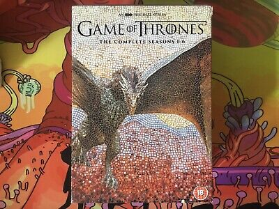 Game of Thrones Complete Season 1-6 DVD Region 2 5051892196826
