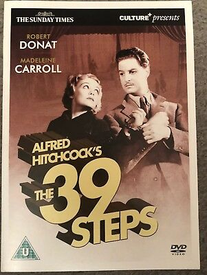 Video DVD The Times The 39 Steps Hitchcock