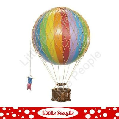 Hot Air Ballon Rainbow 8.5cm perfect for any nursery