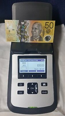 Tellermate Tix 2000 Note Coin Counting Scale Bank Cash Counter Machine AS NEW