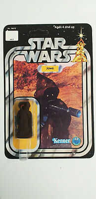 KENNER Original STAR WARS Jawa (Cloth Cape) Sealed CARDED REPRODUCTION 12 Back