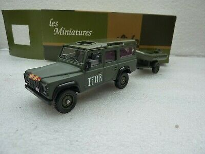 SOLIDO Land rover DEFENDRE militaire UK