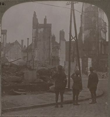 How the Germans Devastated France. Lille, a Once Prosperous Manufacturing Town