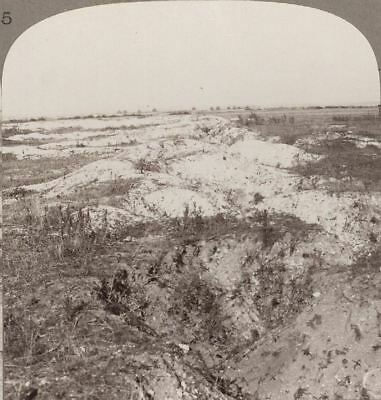 Our Old Front Line Near Festubert, Where We Held All Hun Attempts To Break Thru'