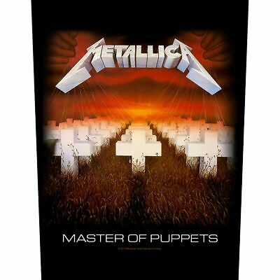 Metallica Patch Master Of Puppets Backpatch