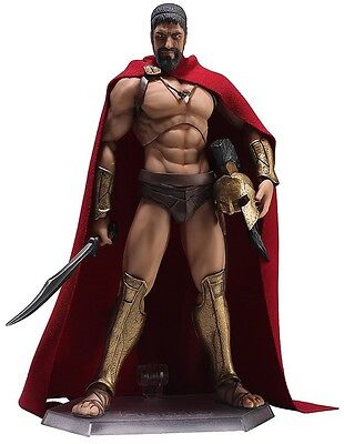 Figma 270 Action Figure Film 300 This is King of Sparta Leonidas With Tracking
