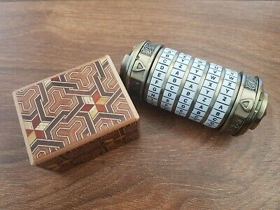 24 Carat Gold Bullion 999.9 Bar - Hidden in Cryptex and Chinese Puzzle Box - 24k