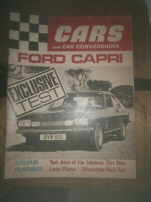 Cars And Car Conversions February 1969 Ford Capri test Vauxhall Viva gt review