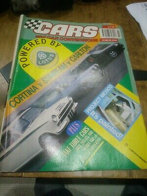 Cars And Car Conversions March 1991