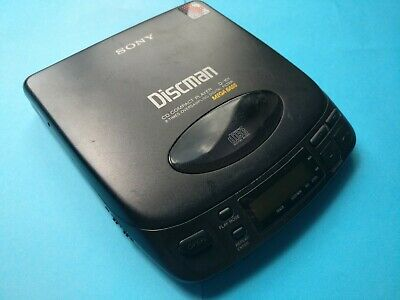 Vintage Sony Discman D-101 Refurbished New Mechanics And Laser