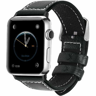 Genuine Leather Wrist Strap Watch Band Bracelet For Apple iWatch Series 1/2/3/4