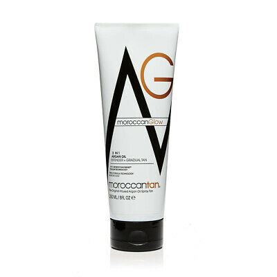 MOROCCAN GLOW Lotion 2in1 Extender & Gradual Tan Argan Oil 250ml 80ML